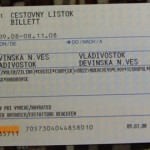 City Star Ticket from Slovakia to Vladivostok